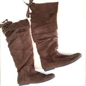 Madden Girl tall boots- Brown